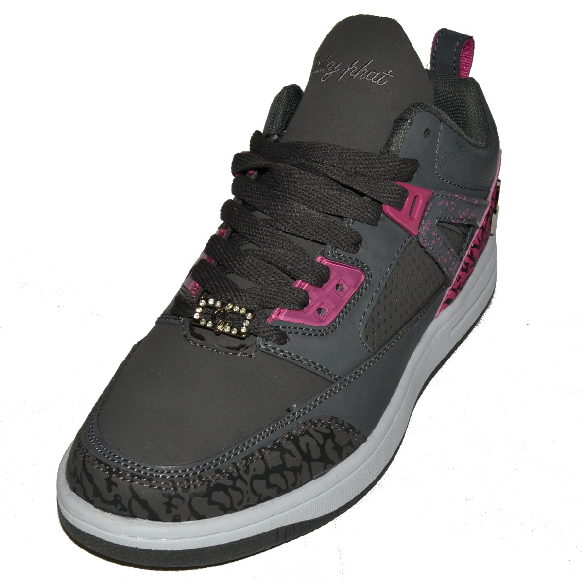 Baby Phat Shoes Blake 2 Womens Charcoal